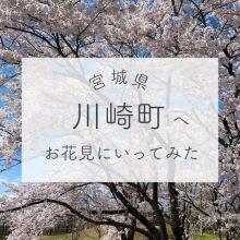 宮城のお花見スポットならここ!川崎町の魅力