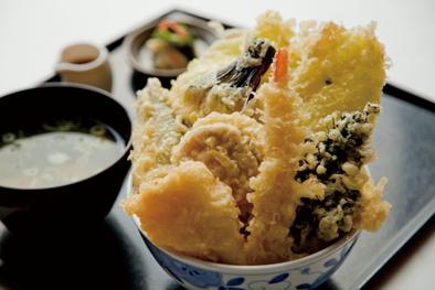 海鮮浜天丼
