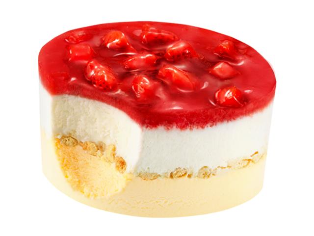 「明治エッセルスーパーカップSweet's 苺ショートケーキ」イメージ