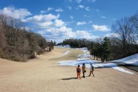 Vol.7冬限定で特別開放!清々しい冬のゴルフ場散策