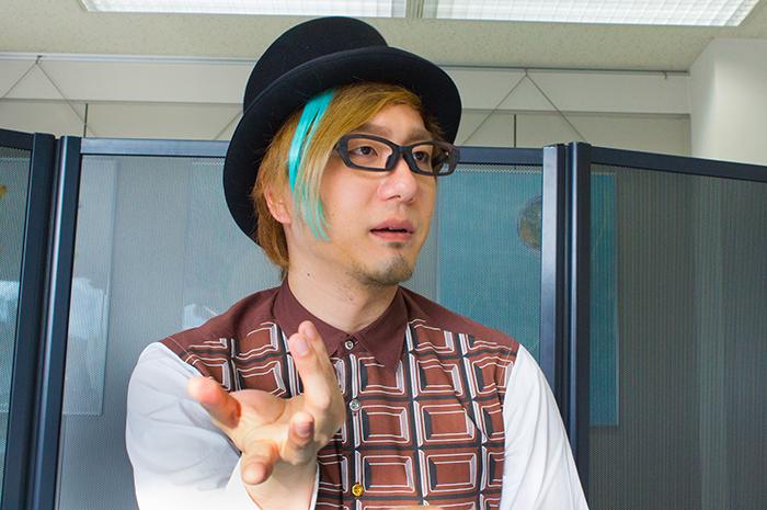 鍵盤男子・中村さん