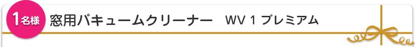 【1名様】窓用バキュームクリーナー WV 1 プレミアム