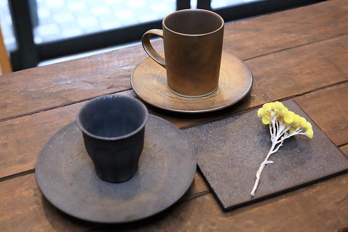 青木良太氏作の陶器