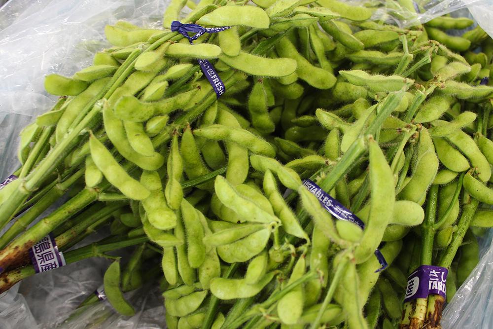 旬の野菜枝豆