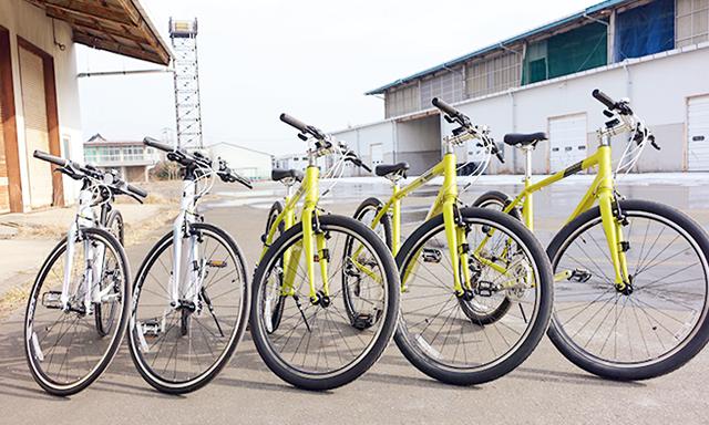 貸出自転車イメージ