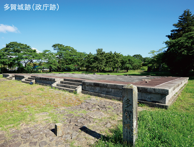 多賀城跡(政庁跡)