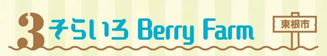 [3]そらいろ Berry Farm(東根市)