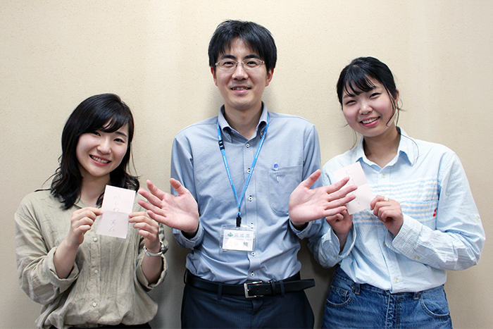 池田さんと学生