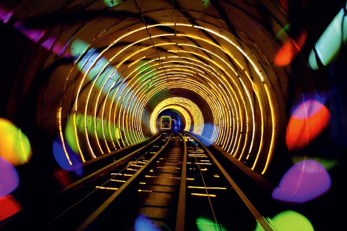 外灘観光トンネル