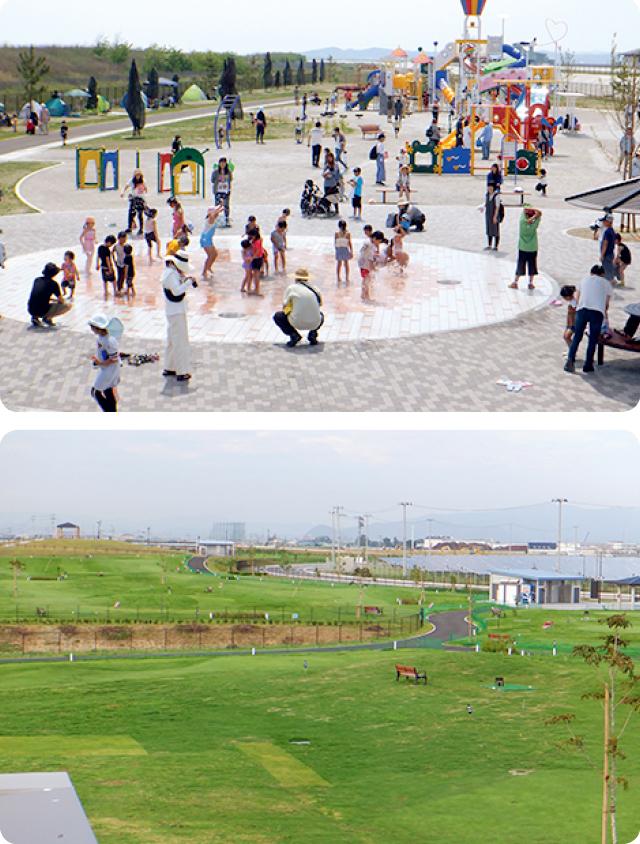 ガス&ライフ 矢本海浜緑地公園