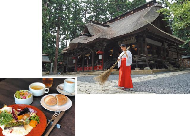 『熊野大社』巫女体験