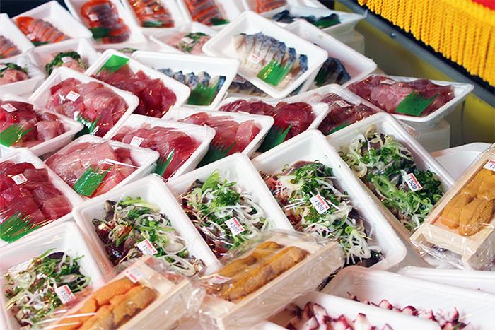 仙台駅前 みやぎ鮮魚店