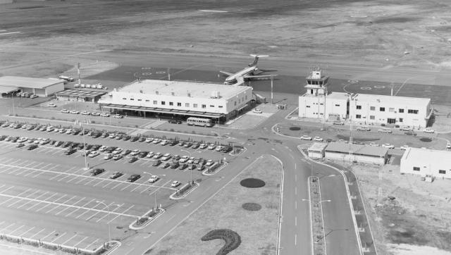 1970年に完成した真新しいターミナルビル