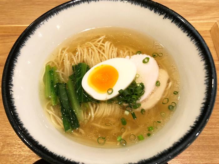 鶏塩中華そば(淡麗)