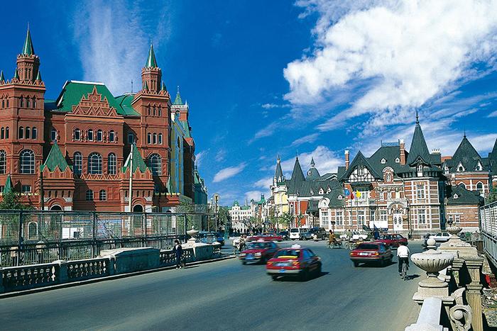 「ロシア風情街」エリア