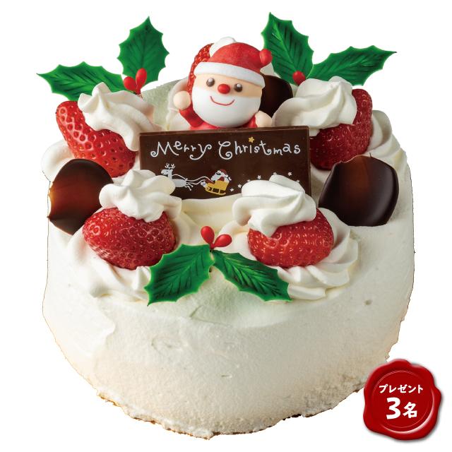 [プレゼント3名]苺のショートケーキ
