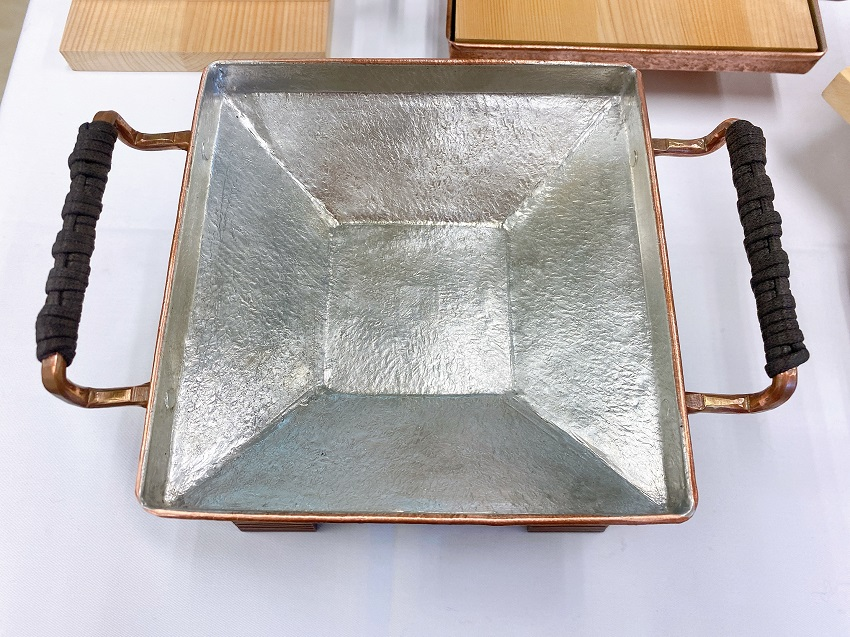 仙臺銅壺・せり鍋