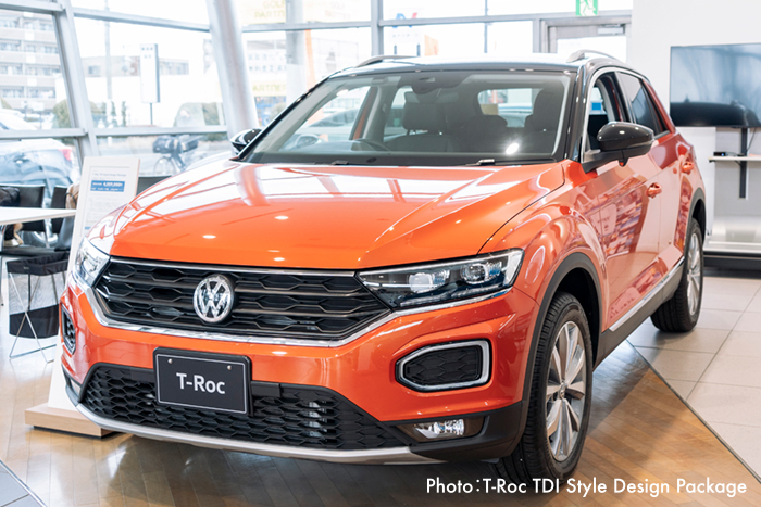 Photo:T-Roc TDI Style Design Package